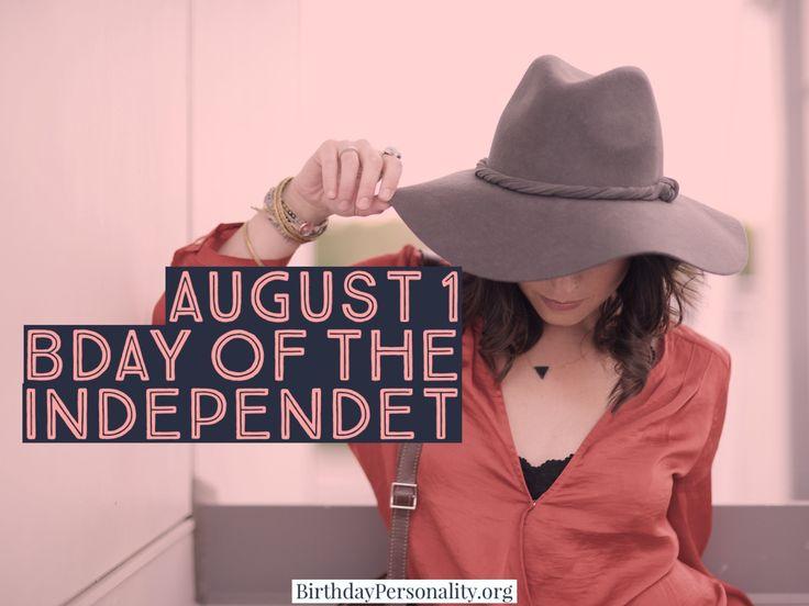 August 1 Zodiac Birthday Horoscope Personality