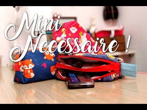 Passo a Passo - Mini Necessaire (2 zíperes) - YouTube