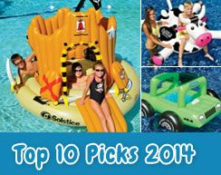 Our top 10 inflatable pool toys/lounges for 2014