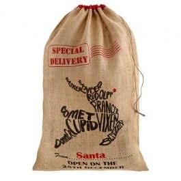 Keep your presents organised this festive season with our stylish special delivery sack