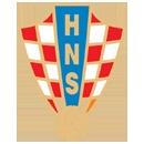 Escudo oficial de la selección de Croacia para la Eurocopa 2012. El equipo Corata se verá las caras contra España en la fase de grupos de la Eurocopa 2012