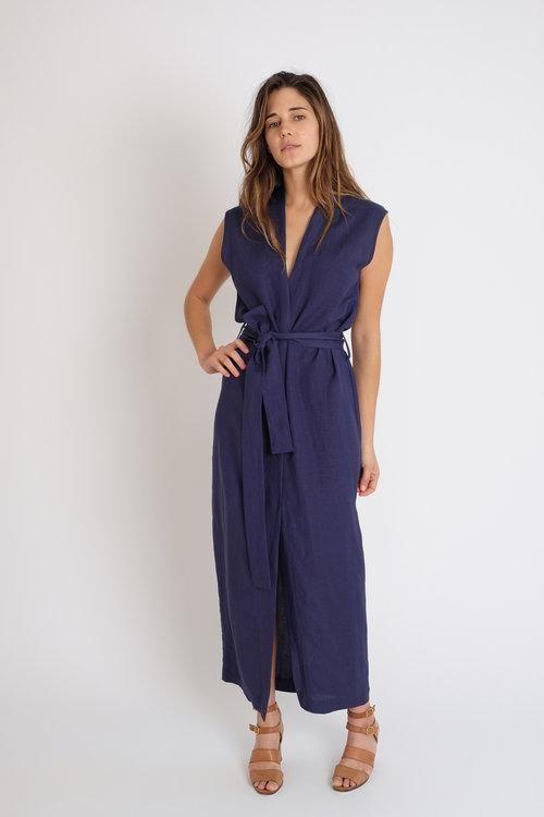 7fb18d07e880cb Jesse Kamm Yuri Wrap Dress - Indigo | Jesse Kamm | Dresses, Wrap ...