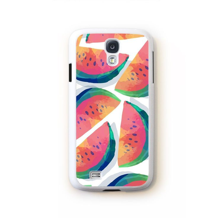 Watermelon large slices on white for Galaxy S4