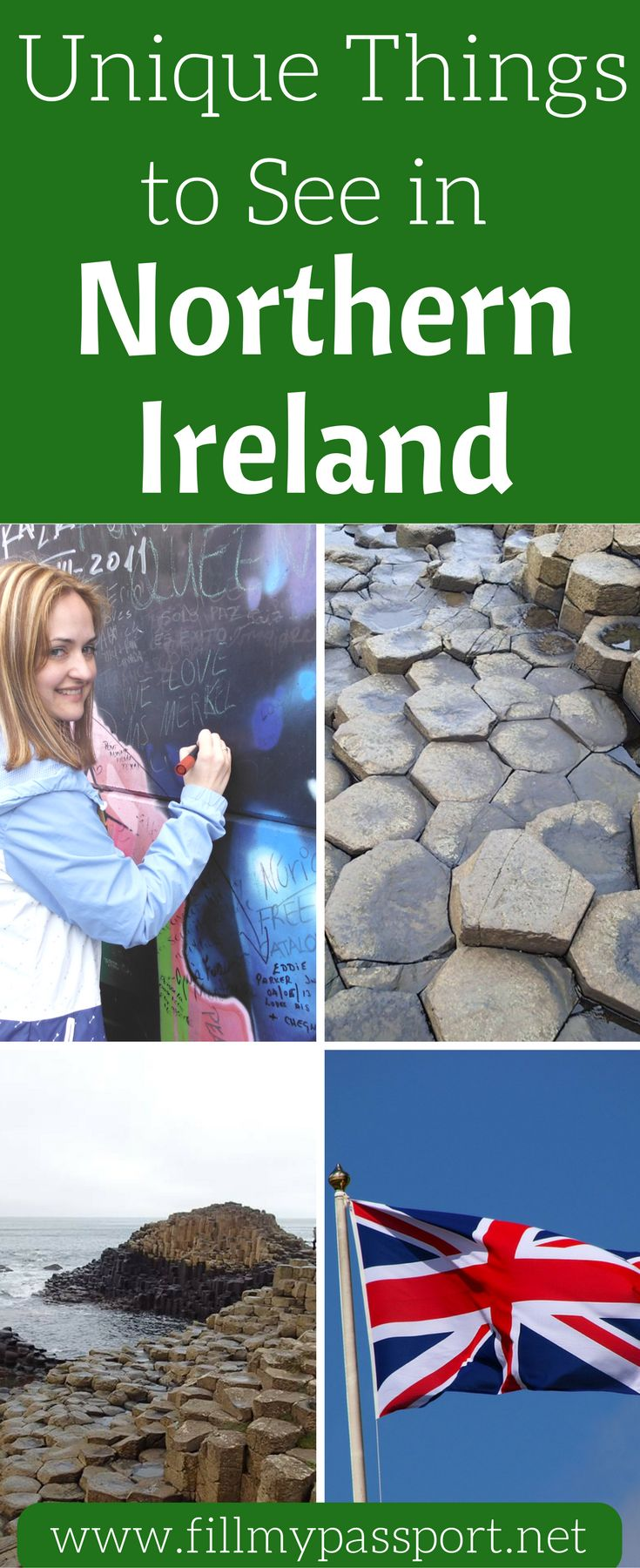 If you get the chance to visit Northern Ireland, GO! We love all of the history and culture of Northern Ireland and think you will too. You can visit the Titanic museum, learn about the most bombed hotel in Europe, and much more. Come see what things you should see in Northern Ireland and don't forget to save this pin to your travel board.