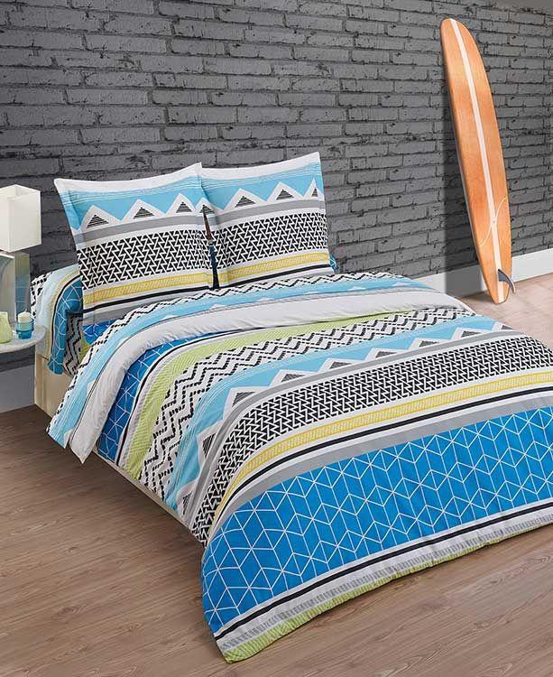 Geometric bedroom une collection d 39 id es que vous avez essay es propo - Parure de lit ethnique ...