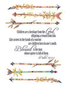 Psalm 127:3-5 - Google Search
