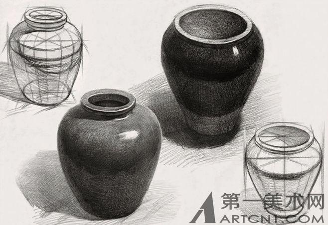 许衡2013素描静物作品欣赏(图)
