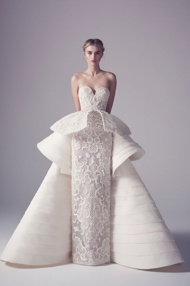 Extravagant Wedding Dresses from Haute Couture Spring 2016