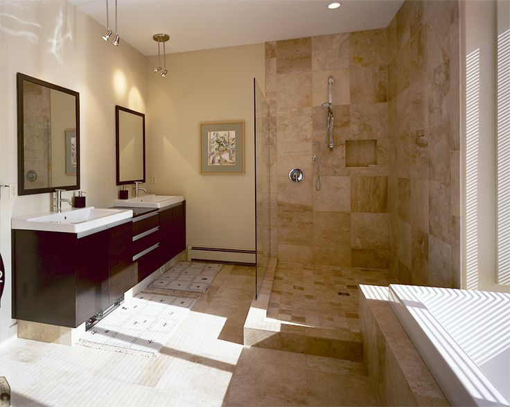 28 best ensuite ideas images on pinterest wet rooms for Modern chic bathroom designs