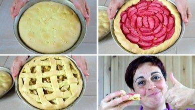 3 modi facili per fare la crostata di mele – 3 Easy Ways to Make Apple Pie