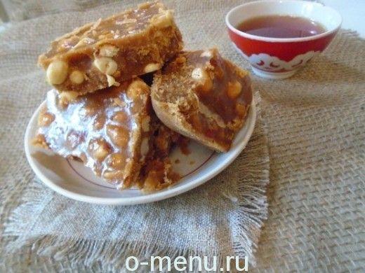 щербет с арахисом рецепт в домашних условиях