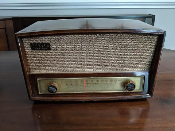 1951 Zenith Radio W Original Amp And Speaker Plus Bluetooth And