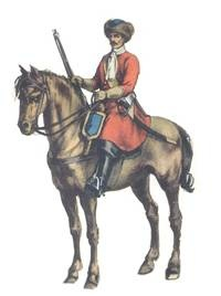 Polish Dragoon 17th century