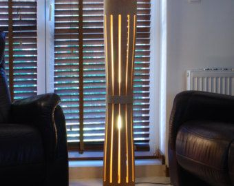 DESCUENTO -15% incluido lámpara #5 de madera contrachapada doblada con textura de madera natural, regalo de cumpleaños, regalo
