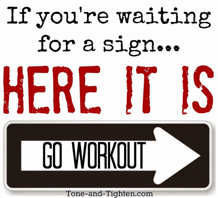 Stop waiting and start doing. #fitness #motivation #inspiration from Tone-and-Tighten.com