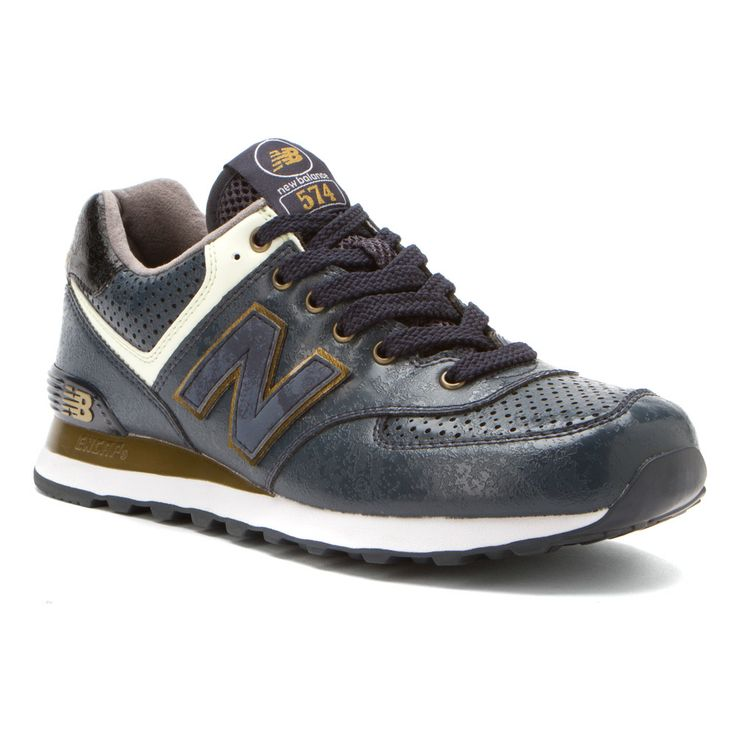 Mens New Balance Shoes Navy Gold Moon Pack