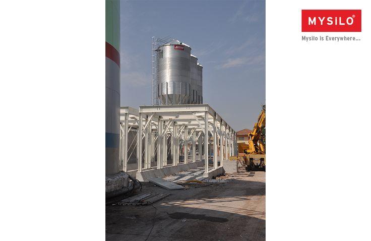 Крупнейший в Европе производитель силоса Mysilo  www.mysilo.com/ru  #силос #mysilo #злаки #хранениязерна #сталь #силосы