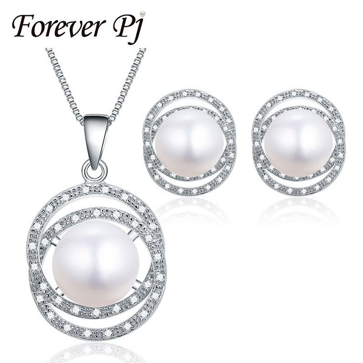 10-10.5mm Natural Pearl Pendant and Earring Set, Fine 925 Silver (Delivery 15-27 Days)