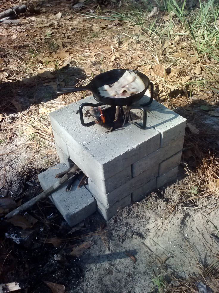 Rocket Stove Breakfast: