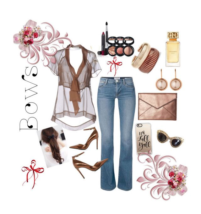 """""""Bows"""" by yvette-colon on Polyvore featuring SCERVINO STREET, Dune, Rebecca Minkoff, Laura Geller, Dyrberg/Kern, Rosantica, Marc Jacobs, Tory Burch, Casetify and Dolce&Gabbana"""