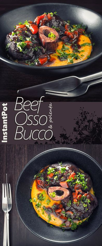 Beef Osso Bucco is a more accessible version of the Italian Veal Classic, cooked in the InstantPot means it is also a whole bunch quicker but every bit as tasty.