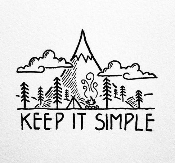"""Great Instagram for """"keep it simple"""" graphics"""