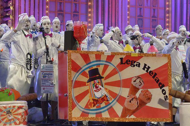 Los Legañosos, los grandes triunfadores de la final del concurso de murgas 2016 del Carnaval de Las Palmas de Gran Canaria