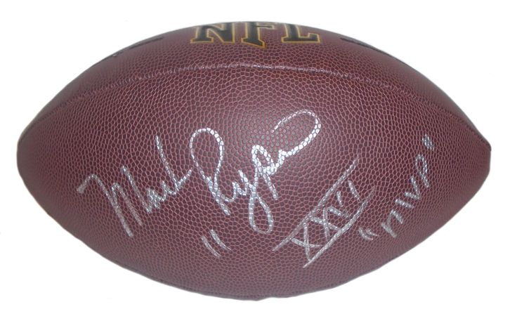 Washington Redskins Mark Rypien signed NFL Wilson full size football w/ proof photo.  Proof photo of Mark signing will be included with your purchase along with a COA issued from Southwestconnection-Memorabilia, guaranteeing the item to pass authentication services from PSA/DNA or JSA. Free USPS shipping. www.AutographedwithProof.com is your one stop for autographed collectibles from Washington DC sports teams. Check back with us often, as we are always obtaining new items.