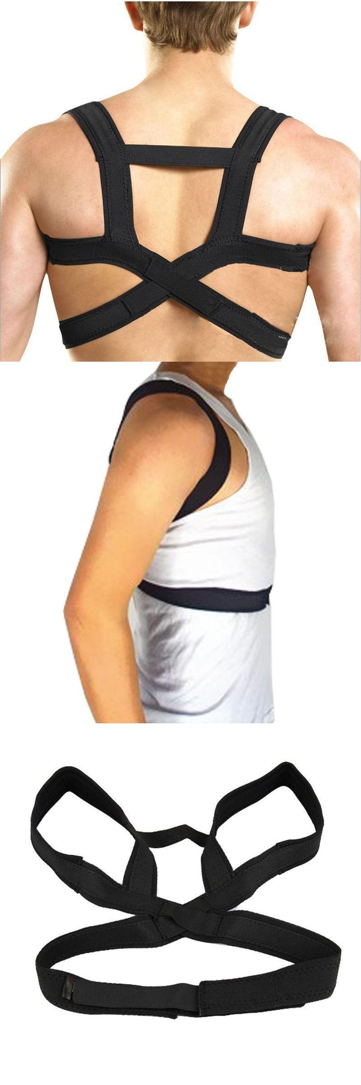 [Visit to Buy] APTOCO Elastic Posture Corrector Support Back Brace with Breathable Straps Clavicle Support Portable Brace Belt for Men Women #Advertisement
