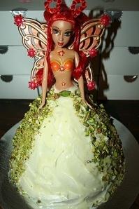 Fairy Princess courgette cake