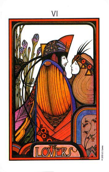 .'The Lovers' ~ Tarot ...