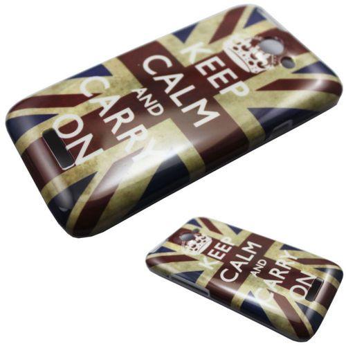 Vintage UK Flag Hard Back Case for HTC One X