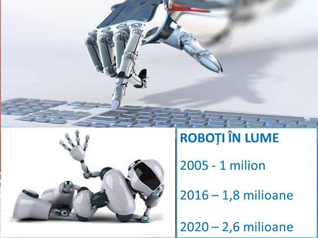 Profu`economist: Roboți în lume