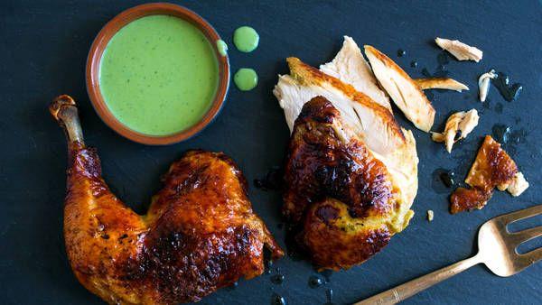 Green goddess chicken