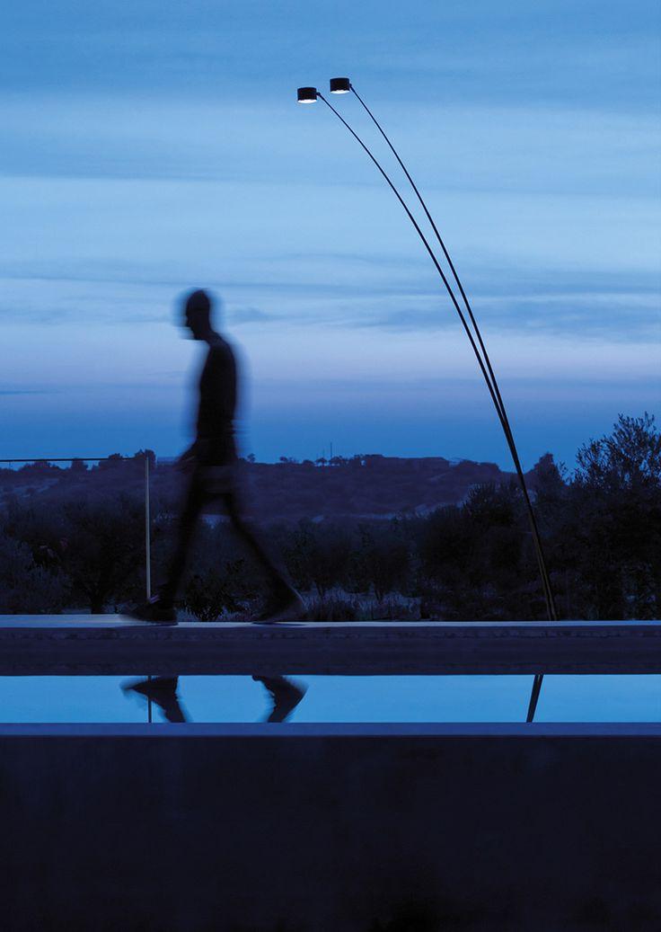 SAMPEI Outdoor floor Lamp. Design Enzo Calabrese and Davide Groppi 2011. Compasso d'Oro ADI 2014 Award.
