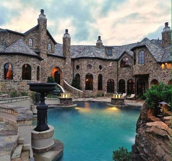 Luxury Stone Homes: 25+ Best Ideas About Mansions On Pinterest
