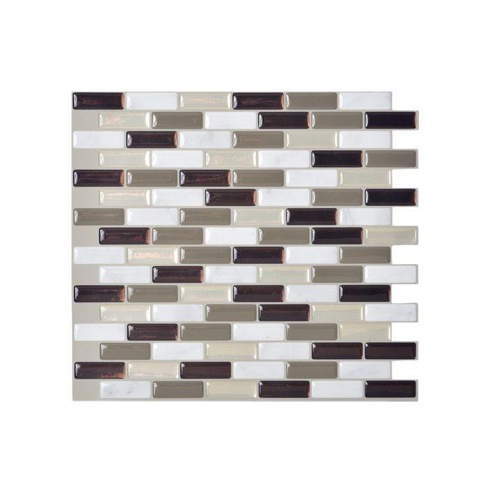 25 Best Ideas About Smart Tiles On Pinterest Easy Backsplash Smart Tiles Mosaik Murano Stone X Peel Stick Wall