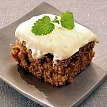 Morotskaka recept - saftig och god - Dansukker