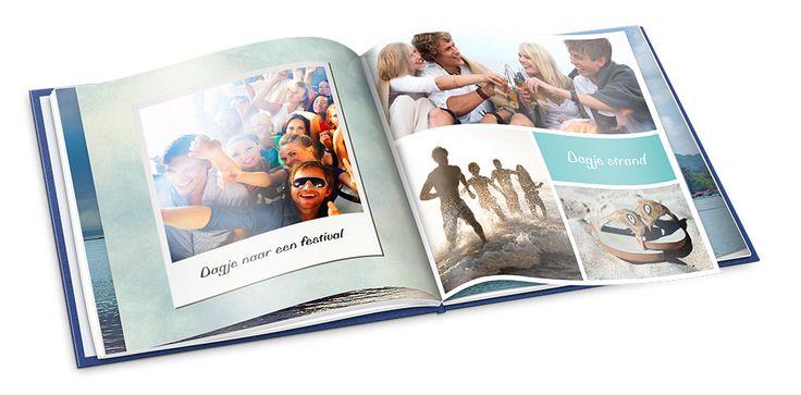 Geef je foto polaroid-look en zet er een leuke tekst onder in een handgeschreven lettertype. #tip #inspiratie #fotoalbum