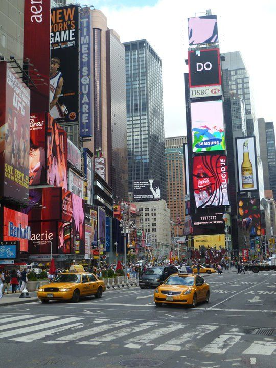 Time Square in New York - Taken by Anne-Marie Smith