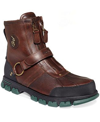 Polo Ralph Lauren Shoes, Conquest III High-C Boots - Boots - Men - Macy's