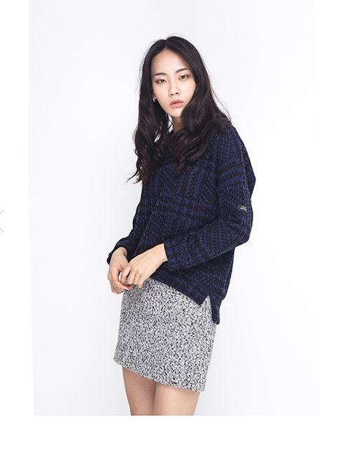 HOUNDS TOOTH KNIT http://arcloset.com/product_view.php?gs_idx=TO140014TT