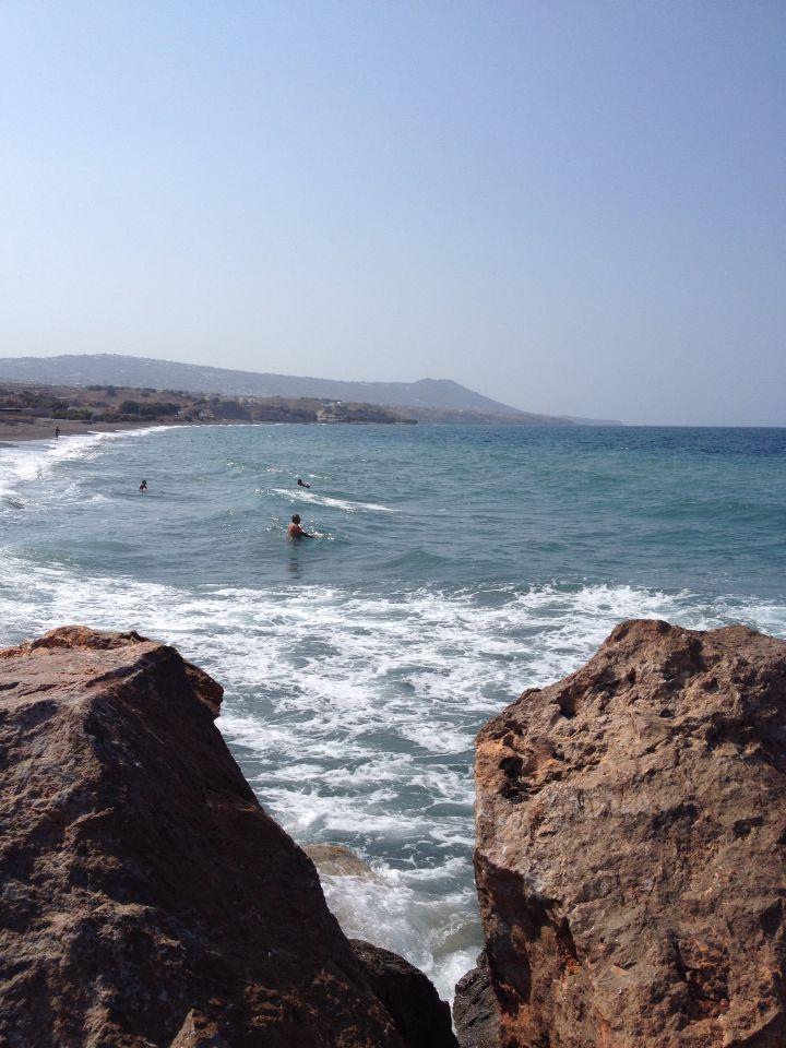Monolithos, spiaggia
