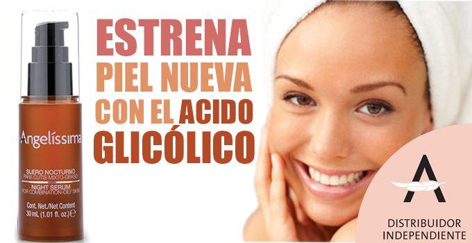 Ácido glicólico estrena piel nueva   - http://www.redgrupoangeles.com/acido-glicolico-estrena-piel-nueva/
