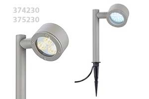 tuinverlichting armaturen met led ledverlichting is zuinig en duurzaam    http://www.ledslight.be/tuinverlichting%20led/374230%20375230%20spike%20ledverlichting%20.pdf