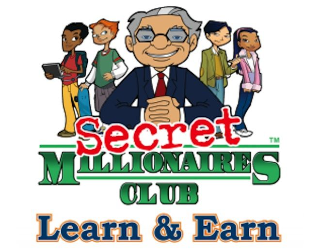 Warren Buffett's Secret Millionaires Club has great financial ed worksheets and other useful information. The cartoon episodes are short, sweet, and to the point.