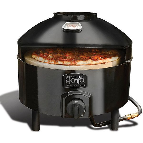 Improvements Pizzeria Pronto Outdoor Pizza Oven (10,370 THB) ❤ liked on Polyvore featuring home, kitchen & dining, grill pizza, oven, oven pizza, pizza, pizza grill, pizza oven, pizza stone and propane pizza oven