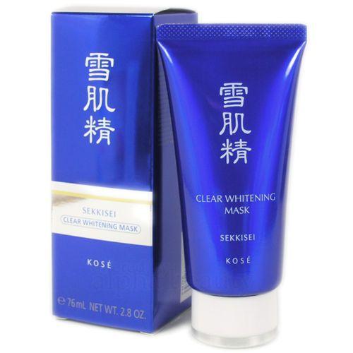 Kose-Japan-SEKKISEI-Clear-Whitening-Mask-76ml-2-8-oz-Black-Peel-off