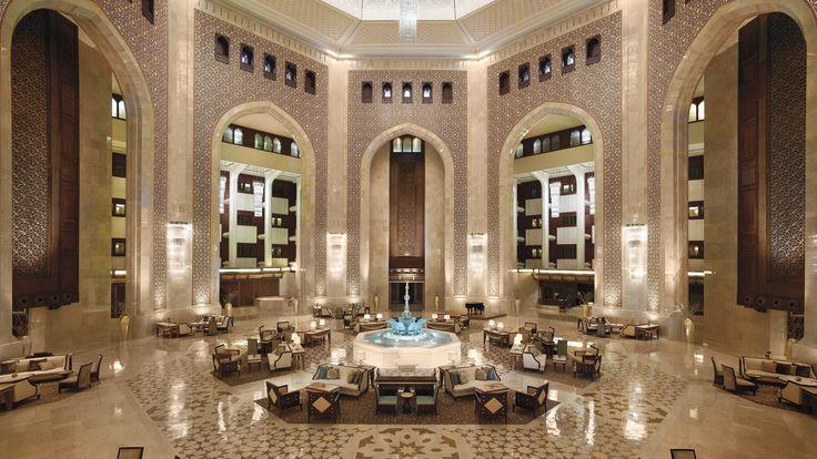 Afternoon Tea im Al Bustan Palace - herrschaftliches Ambiente, Pianomusik und köstliche Kleinigkeiten