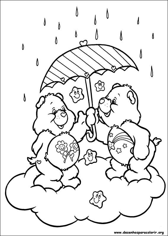 Free Printable Coloring Pages Teddy Bear : 238 best care bears coloring sheets images on pinterest